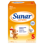 Sunar Complex 5 mléčná výživa pro děti v prášku od ukončeného 36. měsíce 2 x 300g (600g)