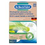 Dr. Beckmann Ekologické ubrousky na zachycení barev a nečistot 20 ks