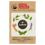 Leros Ranní zahřátí myrta & zázvor bylinný čaj 20 x 1,5g (30g)