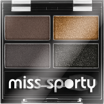 Miss Sporty oční stíny Quatro  414
