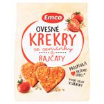 Emco Ovesné krekry se semínky a rajčaty 100g