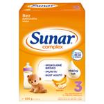 Sunar Complex 3 banán mléčná výživa pro malé děti v prášku od ukončeného 12. měsíce 2 x 300g (600g)