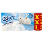 Q-Soft Toaletní papír super jemný 3-vrstvý XXL 16 ks