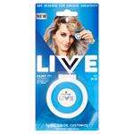 Schwarzkopf Live Paint It! smývatelná křída na vlasy Icy Blue
