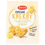 Emco Ovesné krekry se semínky a sýrem 100g