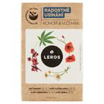 Leros Radostné usínání konopí & vlčí mák bylinný čaj 20 x 1g (20g)