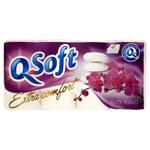 Q-Soft Toaletní papír Extra comfort 4 vrstvý 8 ks