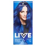 Schwarzkopf Live Ultra Brights or Pastel barva na vlasy Electric Blue 095