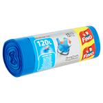 Fino Easy-Pack Pytle na odpadky silné 120l 15 ks