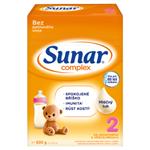 Sunar Complex 2 pokračovací kojenecké mléko 2 x 300g (600g)