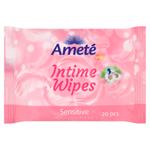 Ameté Vlhčené ubrousky pro intimní hygienu Sensitive 20 ks