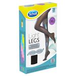 Scholl Light Legs Kompresní punčochové kalhoty Black XL 20 DEN