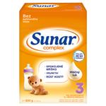 Sunar Complex 3 batolecí mléko 2 x 300g (600g)