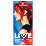 Schwarzkopf Live Ultra Brights or Pastel barva na vlasy Pillar Box Red 092