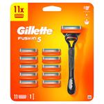 Gillette Fusion5 Pánský Holicí Strojek – 11 Holicích Hlavic