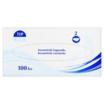 Tip Line Kosmetické kapesníky 2 vrstvé 100 ks