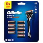 Gillette ProGlide Pánský Holicí Strojek – 10 Holicích Hlavic