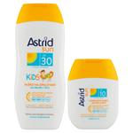 Astrid Sun Dětské mléko na opalování OF 30 200ml + hydratační mléko na opalování OF 10 80ml
