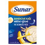 Sunar Banánová kaše mléčná rýžová na dobrou noc 225g