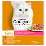 GOURMET Gold Multipack Double Pleasure 8 x 85g
