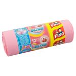 Fino Ultra Pytle na odpadky zatahovací 35l 12 ks