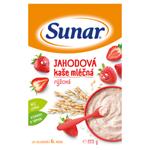 Sunar Jahodová kaše mléčná rýžová 225g