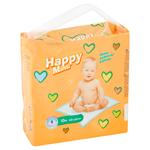 Happy Mimi Dětské přebalovací podložky 60x60cm 10 ks