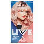 Schwarzkopf Live Lightener + Twist barva na vlasy Cool Rose 101