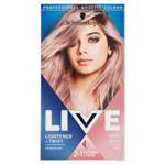 Schwarzkopf Live Lightener + Twist barva na vlasy Cool Lilac 104