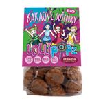Lollipopz BIO sušenky 100g kakaové