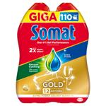 Somat Gold Gel Anti-Grease do myčky 2 x 990ml