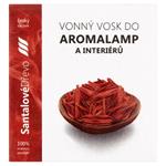 Vonný vosk do aromalamp a interiérů santalové dřevo 8 ks
