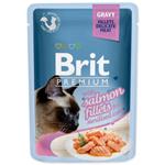 Brit Premium kapsičky pro sterilované kočky losos 85g