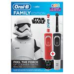 Elektrické Zubní Kartáčky Oral-B Rodinná Řada: 1 Vitality A 1 Kids Star Wars
