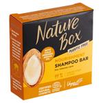 Nature Box tuhý šampon Argan Oil 85g