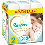 Pampers Premium Care, Velikost 2, Plenka 240x, 4kg-8kg