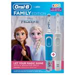 Elektrické Zubní Kartáčky Oral-B Rodinná Řada: 1 Vitality A 1 Kids Ledové Království 2