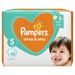 Pampers Sleep&Play V5, 42 Plenek, 11–16kg Důvěrný Pocit Sucha