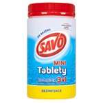 Savo do bazénu Chlorové tablety MINI komplex 3v1 0,8kg