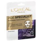 L´Oréal Paris Age Specialist 55+ obnovující textilní maska 30g