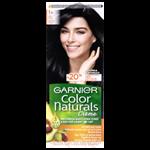 Garnier Color Naturals permanentní barva na vlasy 1+  ultra černá, 60+40+12ml