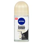 Nivea Black & White Invisible Silky Smooth Kuličkový antiperspirant 50ml