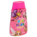 Happy Kids Sprchový gel a šampon s vůní jahod 2v1 300ml