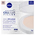 Nivea Hyaluron Cellular Filler Cushion Pečující tónovací krém v houbičce 3 v 1 03 tmavý odstín 15g