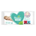 Pampers Sensitive Baby Dětské Čisticí Ubrousky 4 Balení = 208 Čisticích Ubrousků
