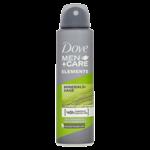 Dove Men+Care Elements antiperspirant sprej pro muže 150ml
