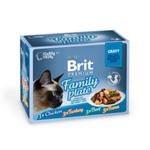 Brit premium kočičí kapsičky 12x85g
