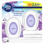 Ambi Pur Bathroom Lavender Osvěžovač Vzduchu 2 X