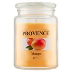 Provence Svíčka ve skle s víčkem 510g, mango