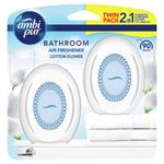Ambi Pur Bathroom Cotton Fresh Osvěžovač Vzduchu 2 X